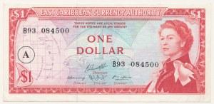 Karaiby Wschodnie, 1 dollar (1965)