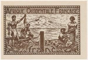 Francuska Afryka Zachodnia, 1 franc (1944)