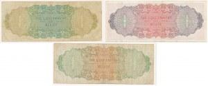 Belize, 1, 5 i 10 dollars 1976 - zestaw (3szt)