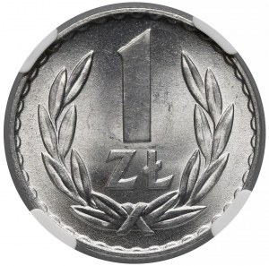 1 złoty 1969 - NGC MS66