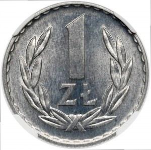 1 złoty 1970 - NGC MS66