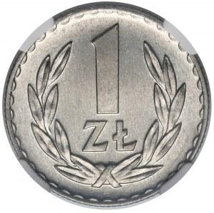 1 złoty 1972 - NGC MS65