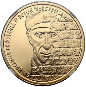 200 złotych 2008 Powstanie w Getcie Warszawskim - NGC PF70 UC (MAX)