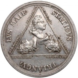 August II Mocny, Medal Alians Trzech Fryderyków 1709 r.
