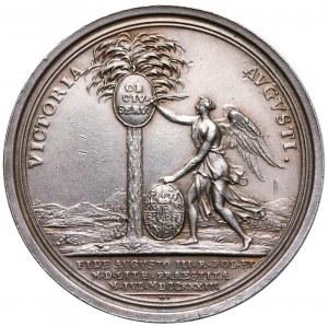 August III Sas, Medal poddanie się Gdańska Augustowi III 1734 r.