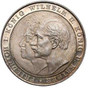 Niemcy, Prusy, Medal 200-lecie Królestwa 1701-1901 (Oertel)