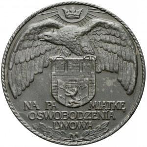 Medal Na pamiątkę oswobodzenia Lwowa 1915 (J. Wysocki)