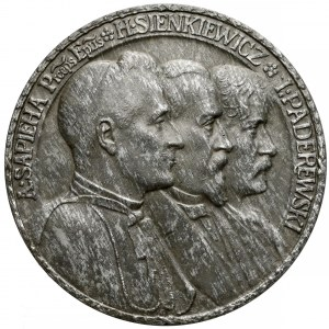 Medal Polonia Devastata 1915 (J. Wysocki)