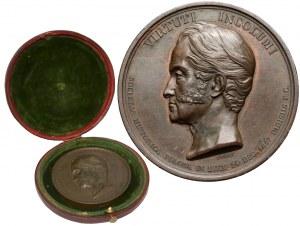 Medal Adam Czartoryski 1847 (Barre)