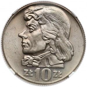 10 złotych 1959 Kościuszko - NGC MS64
