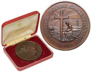 Medal Tysiąclecie Polski Chrześcijańskiej, Londyn 1966