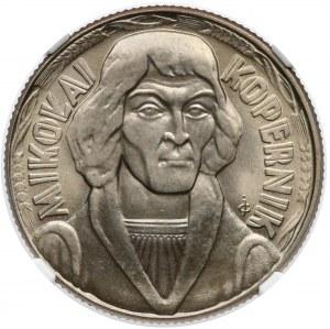 10 złotych 1965 Kopernik - NGC MS66