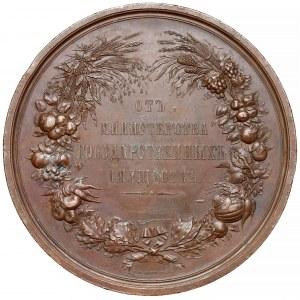 Rosja, Mikołaj I, Medal Regionalna Wystawa Produktów Rolnych (1846r.)