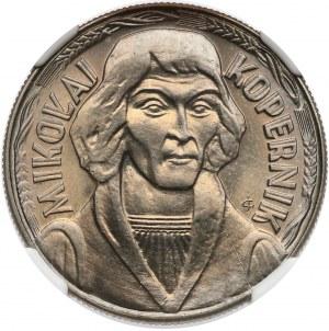 10 złotych 1968 Kopernik -NGC MS66