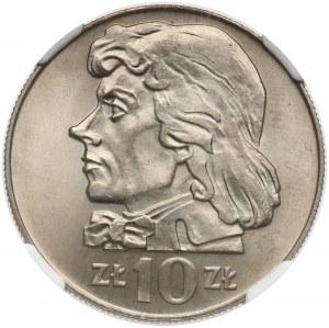 10 złotych 1969 Kościuszko - NGC MS67
