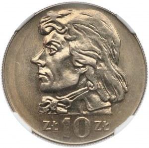 10 złotych 1971 Kościuszko - NGC MS66