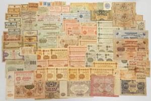 Rosja, zestaw banknotów 1915-1923 - zestaw (99szt)