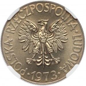 10 złotych 1973 Kościuszko - NGC MS66