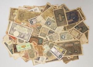 Zestaw banknotów polskich z lat 1919-1987 (268szt)