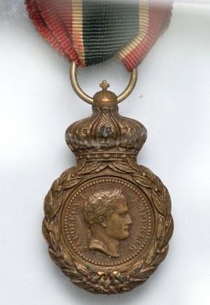 Francja, Medal Świętej Heleny (w starej ramce)