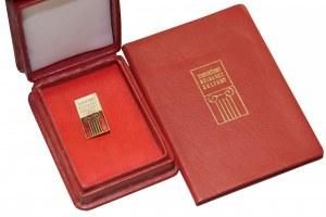Dla SOKORSKIEGO Odznaka Zasłużony Działacz Kultury