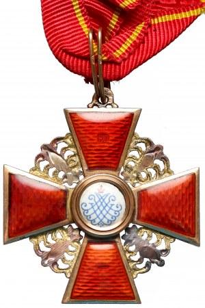 Rosja, Order Świętej Anny III Klasy - z pudełkiem