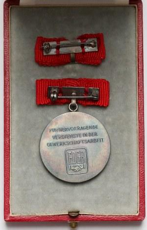 Niemcy NRD, Medal Fritz Heckert / FDGB