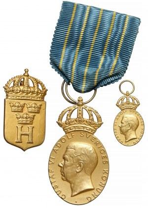 Szwecja, Medal Narodowych Sił Bezpieczeństwa SVERIGES HEMVÄRN 1971