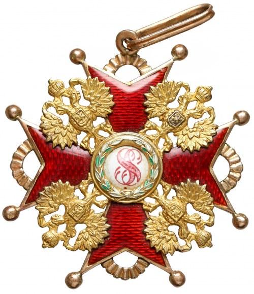Rosja Order Świętego Stanisława III Klasy