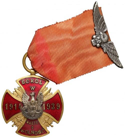 Odznaka pamiątkowa Związku Towarzystw Gimnastycznych Sokół w Polsce