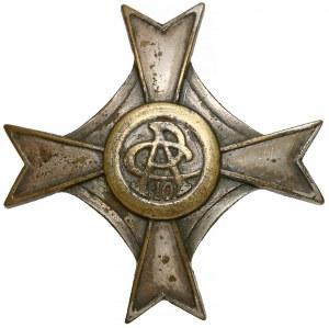Odznaka 10 Kaniowski Pułk Artylerii Ciężkiej (srebrzona)