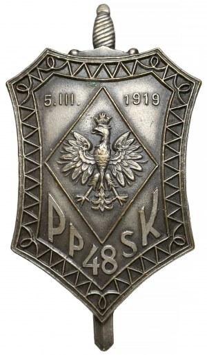 Odznaka 48 Pułk Piechoty Strzelców Kresowych - Stanisławów