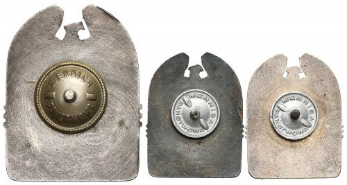 ORMO zestaw 3szt. odznak kieszeniowych