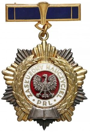 Tytuł honorowy, Zasłużony Nauczyciel PRL