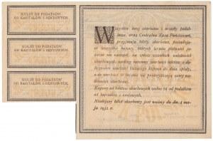 Bilet Skarbowy, Serja I BI 1.000 mkp 1920