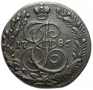 Rosja, Katarzyna II, 5 kopiejek 1785 KM