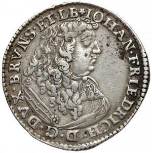 Niemcy, Brunszwik-Calenberg-Hannover, Gulden (2/3 talara) 1675 RB