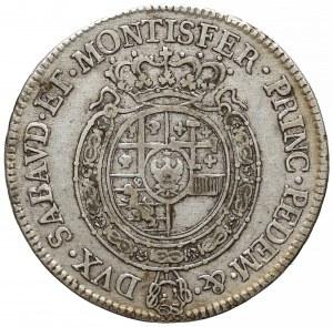 Włochy, Sardynia, 1/2 scudo 1763