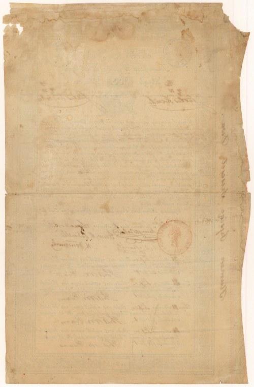 Towarzystwo Wyrobów Zbożowych, 100 zł 1825