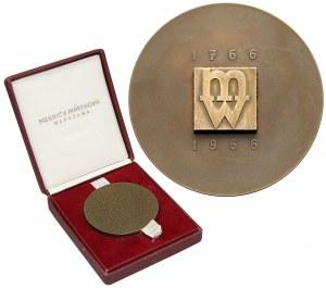 Medal 200 lat Mennicy Warszawskiej 1966