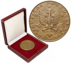 Medal Universitas Varsoviensis 1958 - brąz