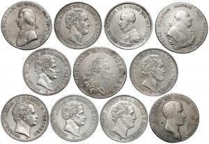 Niemcy, Talary z lat 1780-1847, zestaw (11szt)