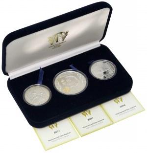 Ukraina, 10 i 20 hrywien 2002-2004 Olimpiada, set (3szt)
