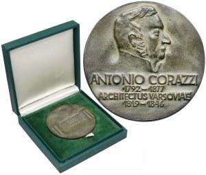 Medal Antonio Corazzi Architekt Warszawy