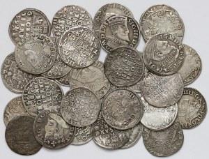 Zygmunt III Waza, zestaw trojaków 1589-1601 MIX (30szt)