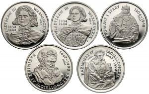 Próby NIKIEL 200.000 zł 1992-94 Królowie (5szt)