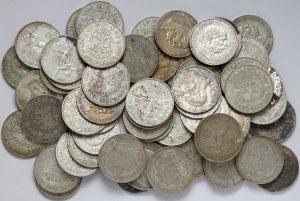 Austro-Węgry ZESTAW 5 koron 1848-1909 (59szt)