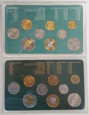 Zestawy monet podenominacyjnych NBP i Mennicy (2szt)
