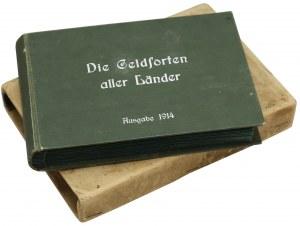 Album pieniędzy zagranicznych 'Die Geldsorten...' 1914