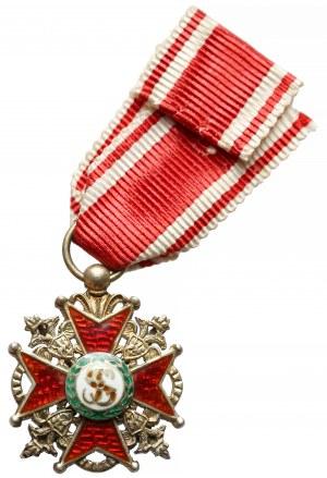 Rosja MINIATURKA Orderu Świetego Stanisława z Mieczami